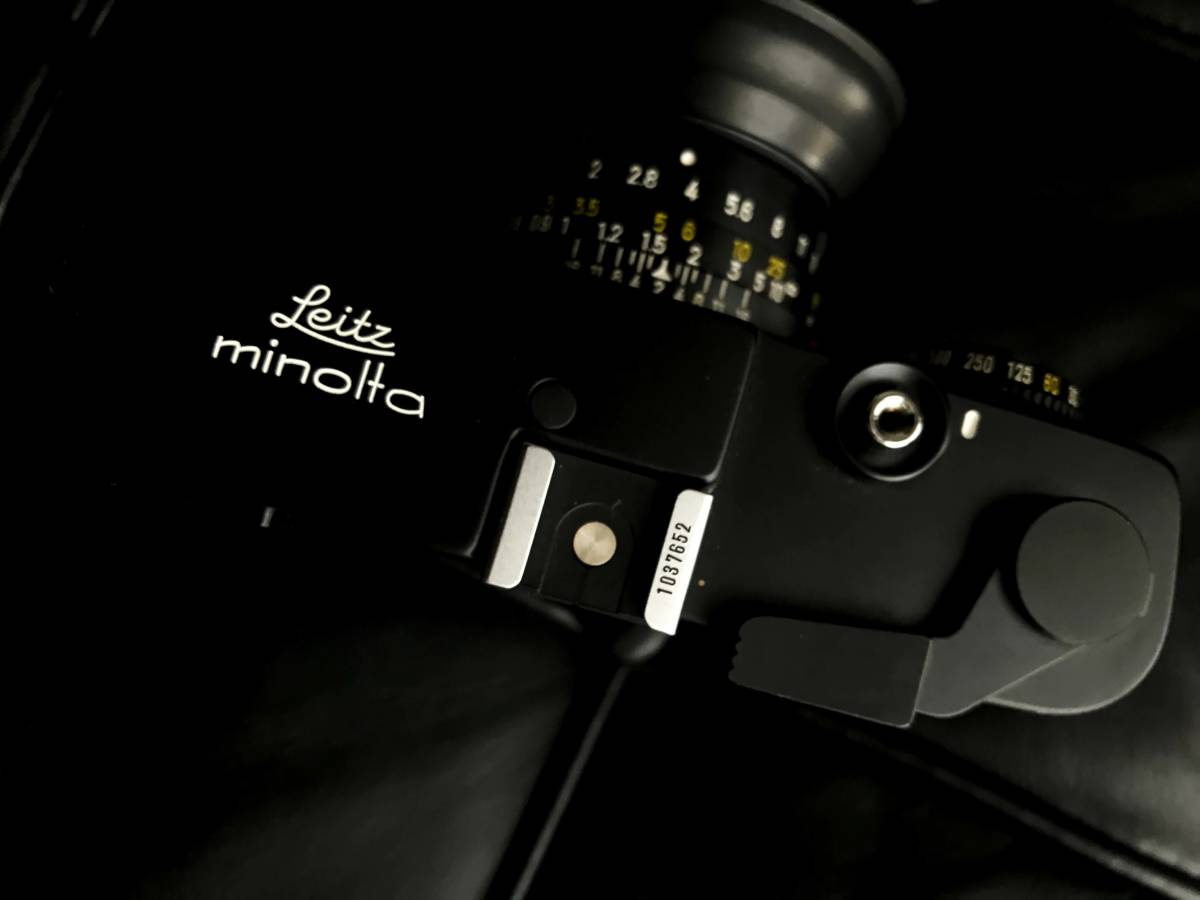 美品 LEITZ MINOLTA CL / No.1037652 M-ROKKOR 1:2 f=40mm/防湿庫保管/良品  Leica フィルター付き_画像4