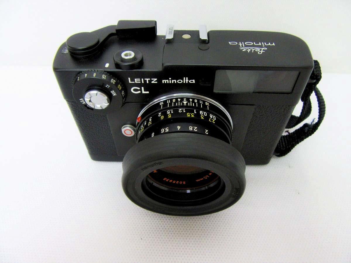 美品 LEITZ MINOLTA CL / No.1037652 M-ROKKOR 1:2 f=40mm/防湿庫保管/良品  Leica フィルター付き_画像8