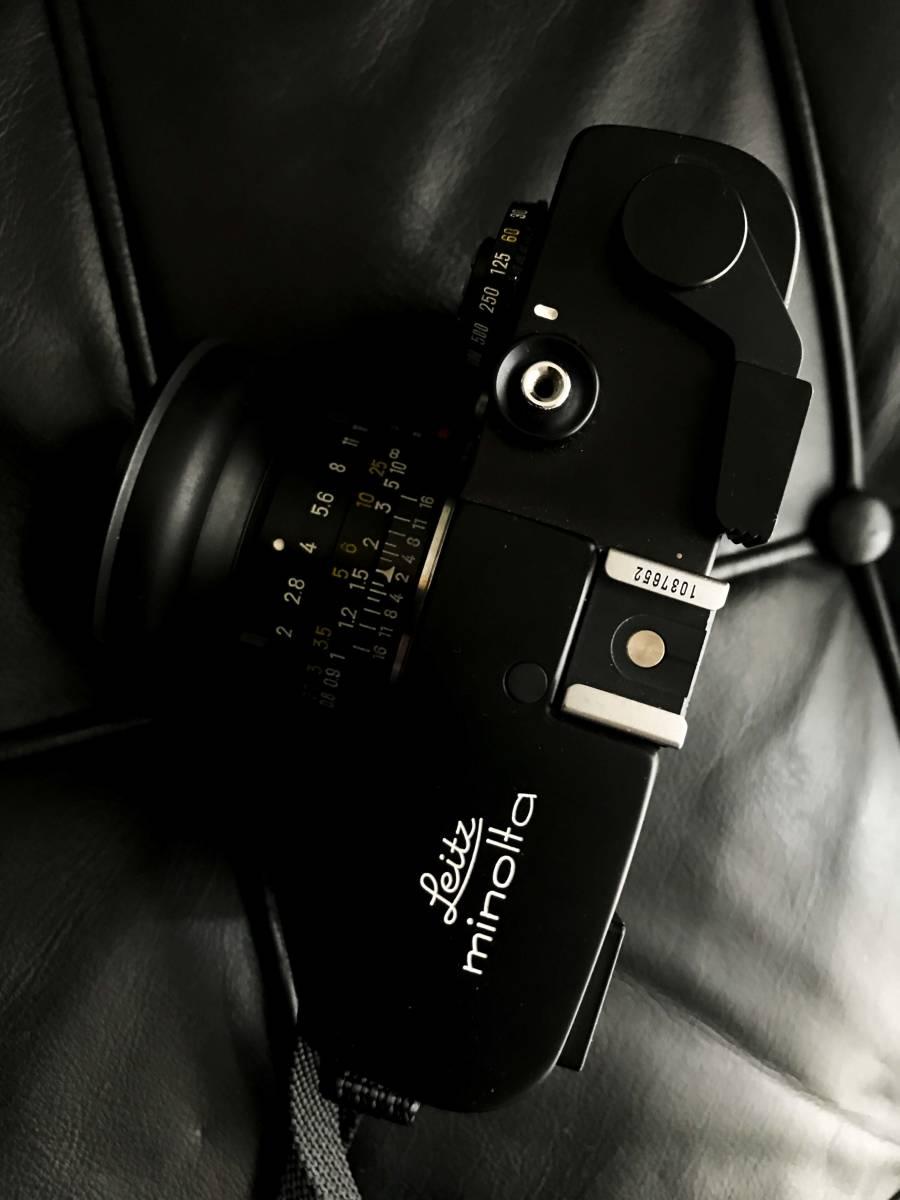 美品 LEITZ MINOLTA CL / No.1037652 M-ROKKOR 1:2 f=40mm/防湿庫保管/良品  Leica フィルター付き_画像2