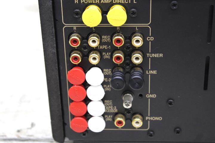 メンテナンス済み オンキョー ONKYO Integra A-927 プリメインアンプ 名機 動作良好 ワンオーナー品_画像9