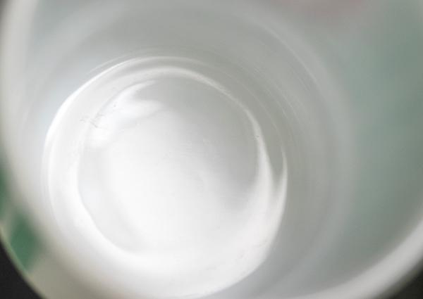 未使用! ファイヤーキング マグ スタッキーズ 耐熱 ミルクグラス コーヒー コンビニチェーン アメリカ製 ビンテージ_画像6