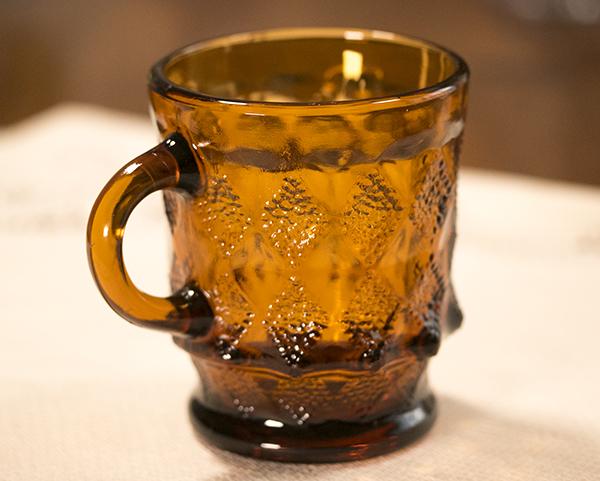 ミント! ファイヤーキング マグ キンバリー アンバー スタッキング 耐熱 コーヒー ココア グラス カップ_画像2