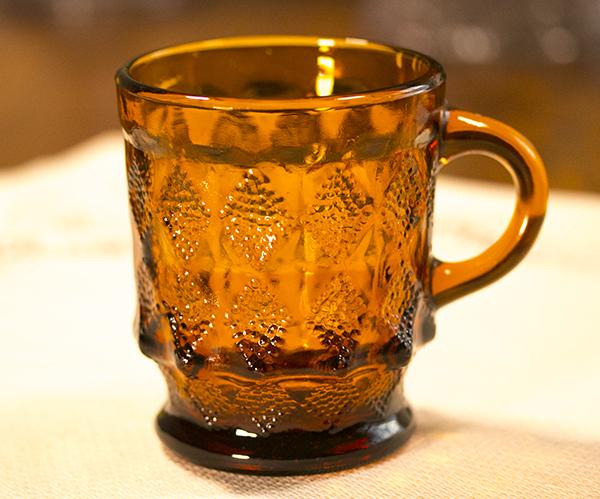 ミント! ファイヤーキング マグ キンバリー アンバー スタッキング 耐熱 コーヒー ココア グラス カップ