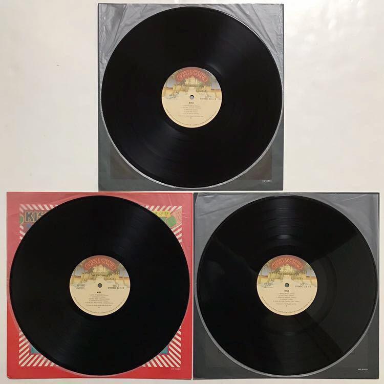 国内盤 キッス 地獄の全貌 3枚組LP KISS_画像2