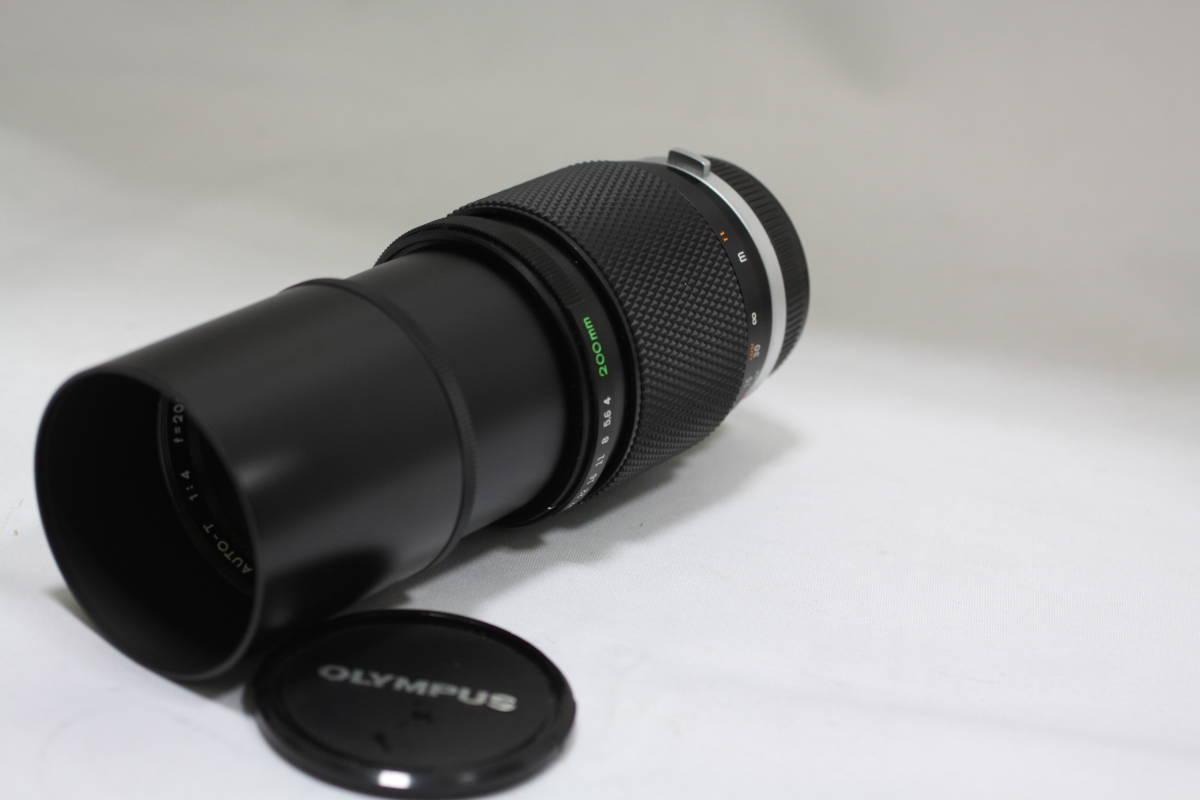 オリンパス OM-SYSTEM  ズイコー 200mm F4_画像2