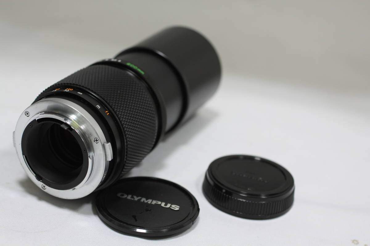 オリンパス OM-SYSTEM  ズイコー 200mm F4_画像3