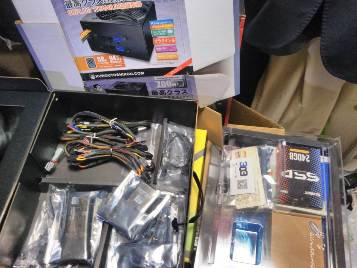 自作 Gaming PC z97X Gaming G1Wifi Bk Core i7 4790K GTX1080Ti Titanium電源 16Gメモリ 限定モデルケース_画像6