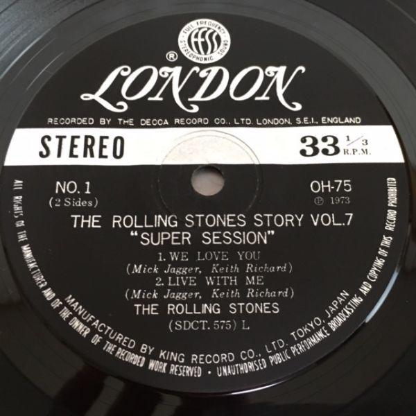 ローリング・ストーンズ・ストーリー / スーパー・セッション【3曲EP】The Rolling STones / Supersession_画像6