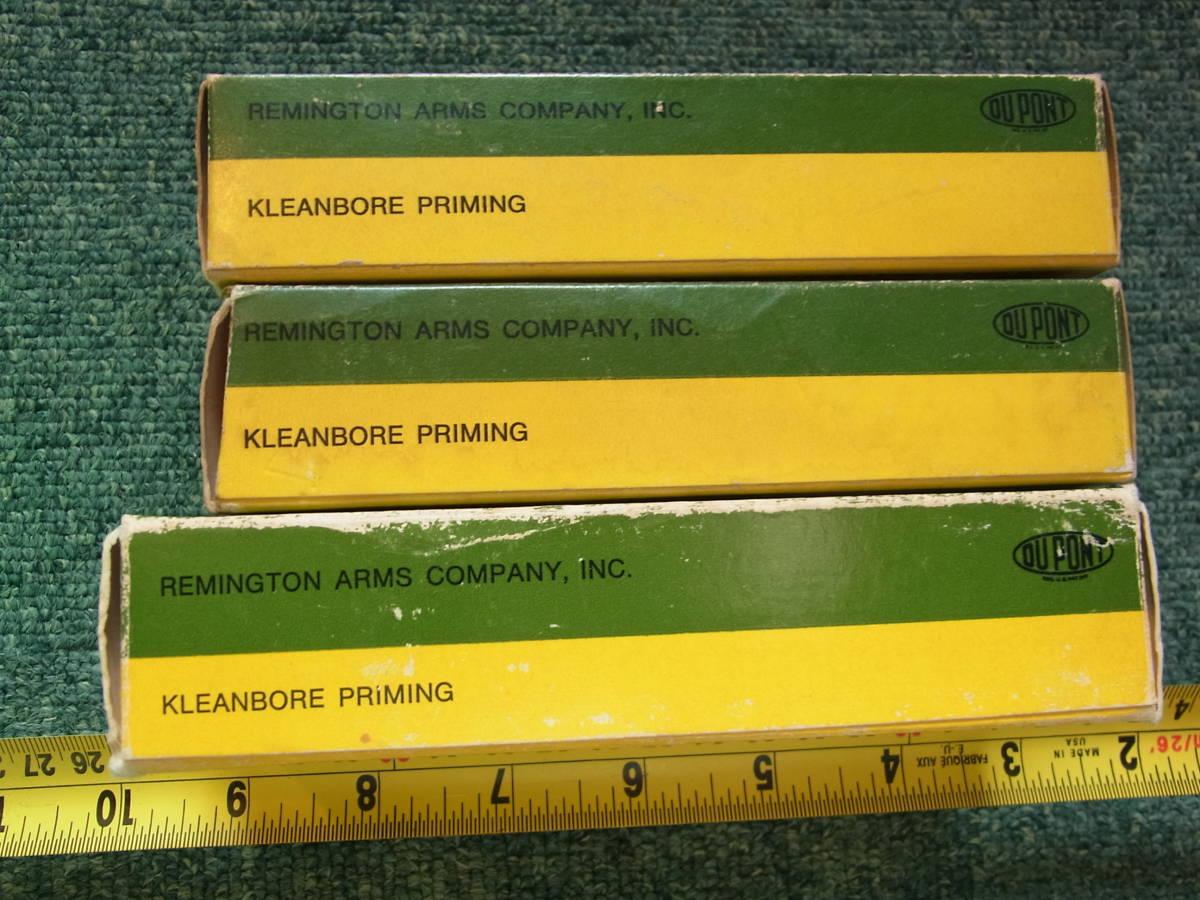 AMMO空箱LF Remington 3箱セット宅急便コンパクト送料込み(トレイ付き)_画像3