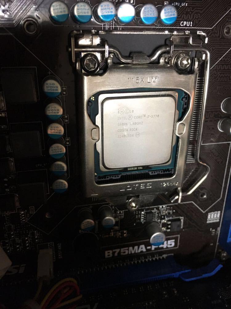 eX.computer Core i7-3770 ジャンク_画像4