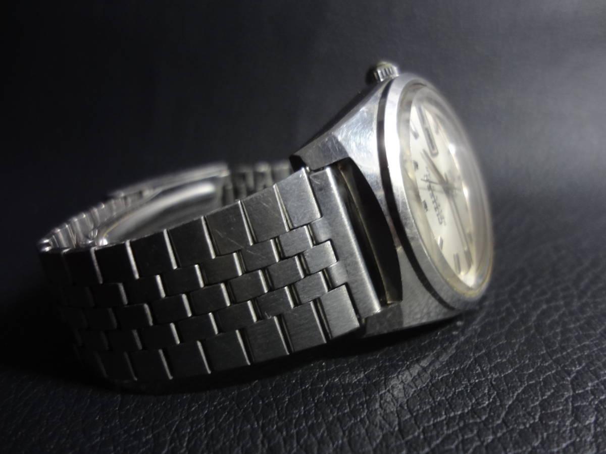 ▽▼CITIZEN SEVEN STAR Deluxe 21J シチズン セブンスター デラックス メンズ デイデイト 自動巻き 腕時計 ACSS 2933-Y ジャンク_画像3