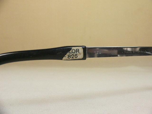 Safilo PRESIDENT ヴィンテージ 眼鏡 フレーム ブローライン サフィーロ_シールが一部欠けています