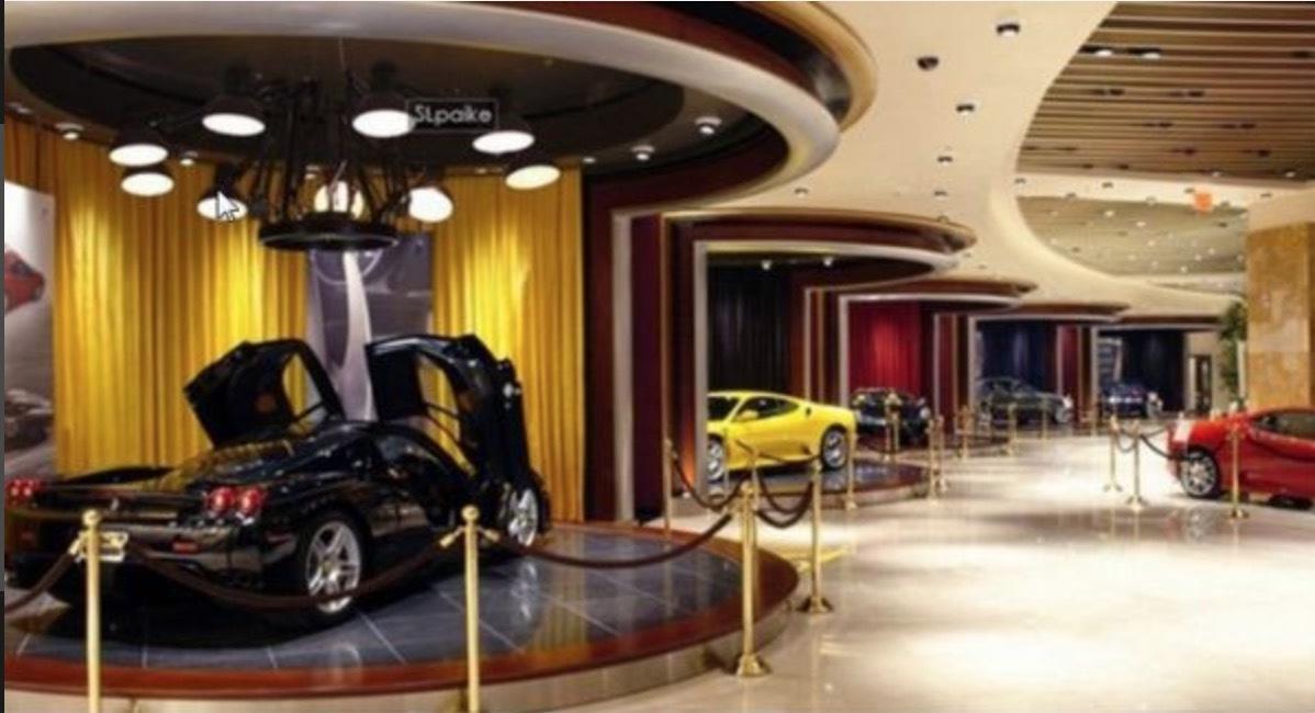 ラスト1 定価52万 空間に絶対的な存在感 モーターショーに採用 サスペンションライト カルテル シャンデリア アルフレックス 店舗照明_画像1
