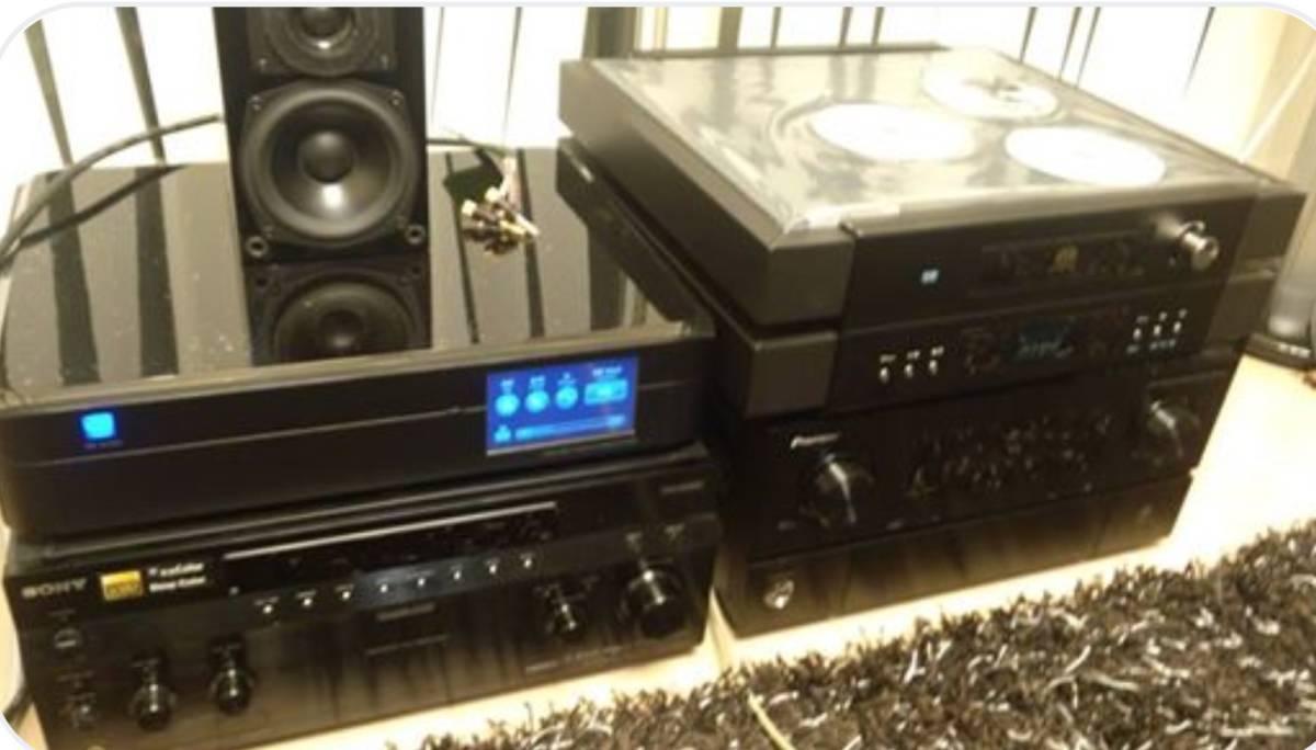 最高音質の AVアンプ をお求めの方へ Pioneer SC-LX56 AVアンプ  AVアンプ パイオニア  激安 B&W 805Dなどに_テスト風景DCSヴェルディPSオーディオ200万