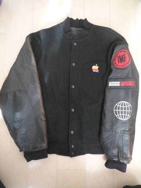 Apple mac アップル マック ジャケット ジャンパー スタジャン supreme シュプリーム スティーブ・ジョブズ ミッションインポッシブル