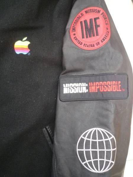 Apple mac アップル マック ジャケット ジャンパー スタジャン supreme シュプリーム スティーブ・ジョブズ ミッションインポッシブル_画像2