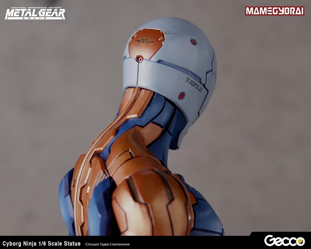 Gecco メタルギア ソリッド/ サイボーグ忍者 1/6スケール スタチュー_画像2