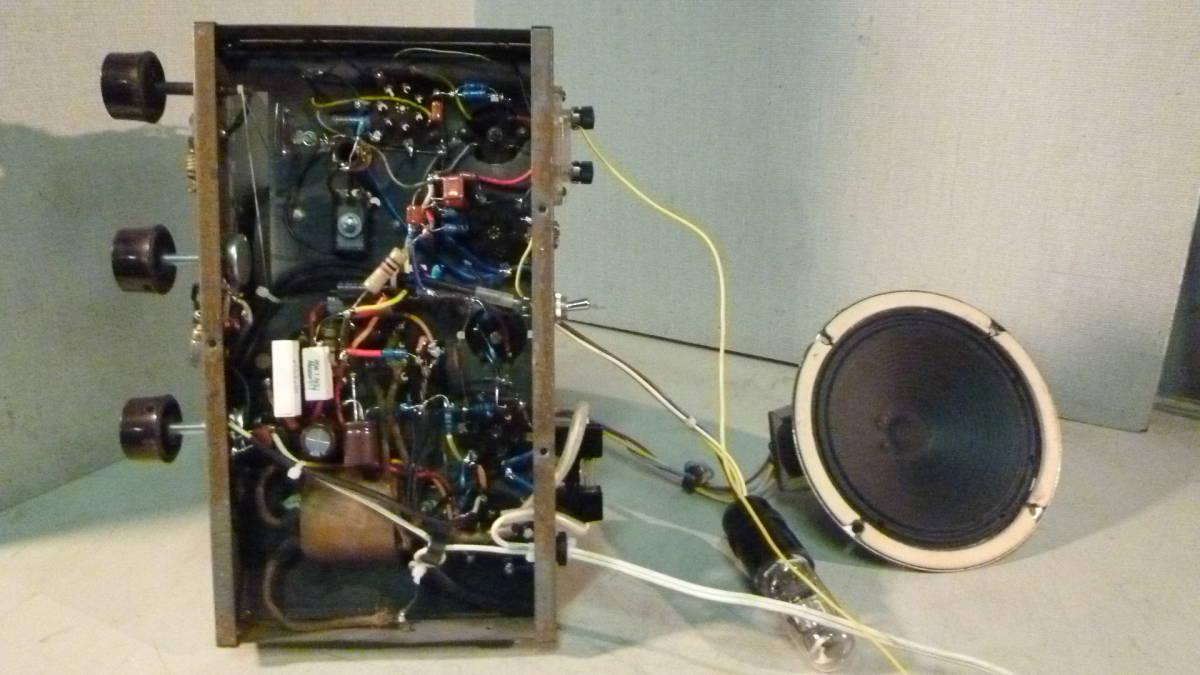 三洋製 真空管ラジオ 整備品 シャーシーのみ 中古