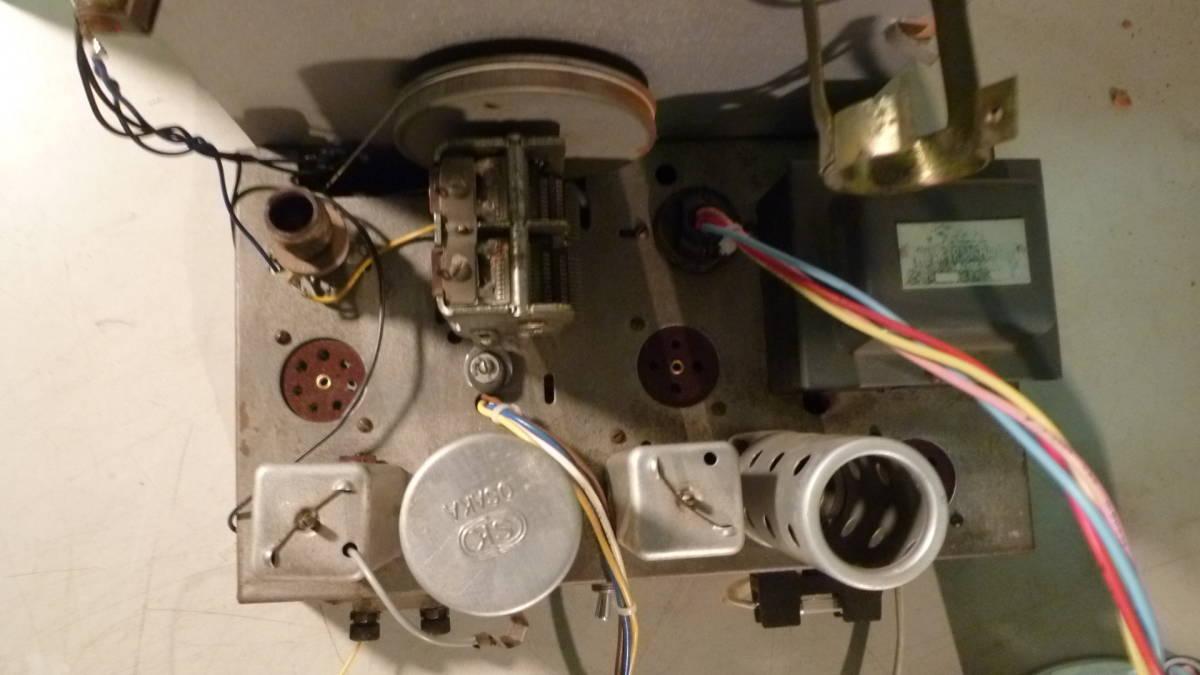 三洋製 真空管ラジオ 整備品 シャーシーのみ 中古_画像5