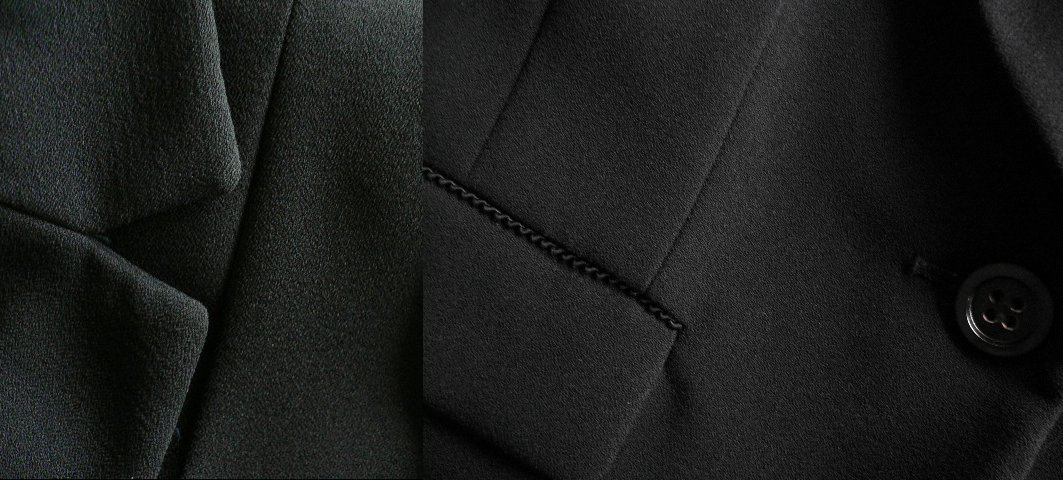 新品9号11号豪華2ジャケット付(黒)レースワンピーススーツ卒業式入学式フォーマルセレモニー _画像7