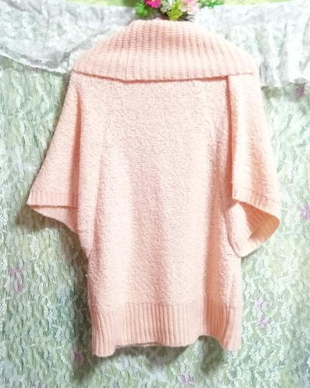 インドネシア製ピンク桜タートルネックふわふわ/セーター/ニット/トップス Made in indonesia pink sakura color fluffy sweater knit tops_画像2