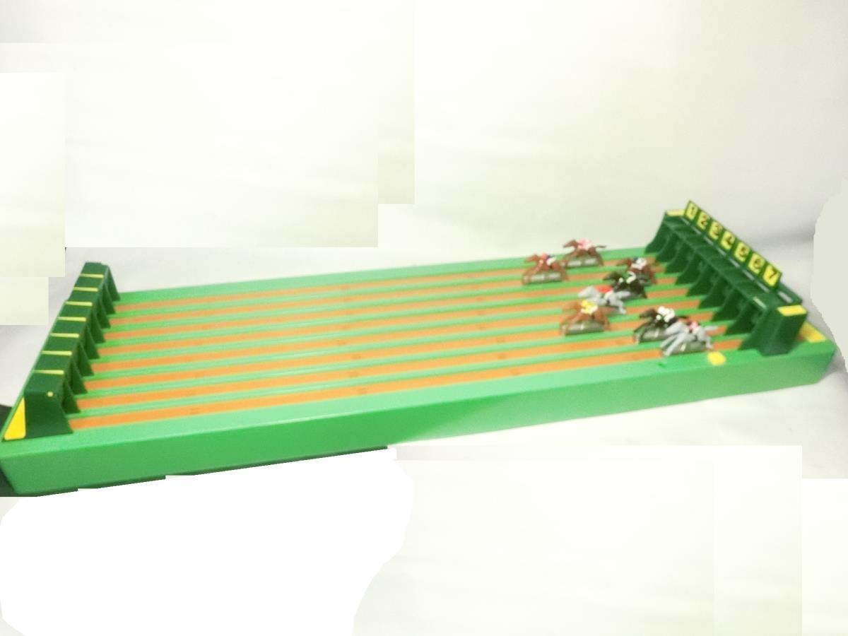 §ツクダオリジナル 8頭立てリアルタイプ 実践エキサイティング競馬ゲーム アンティーク レトロ_画像3