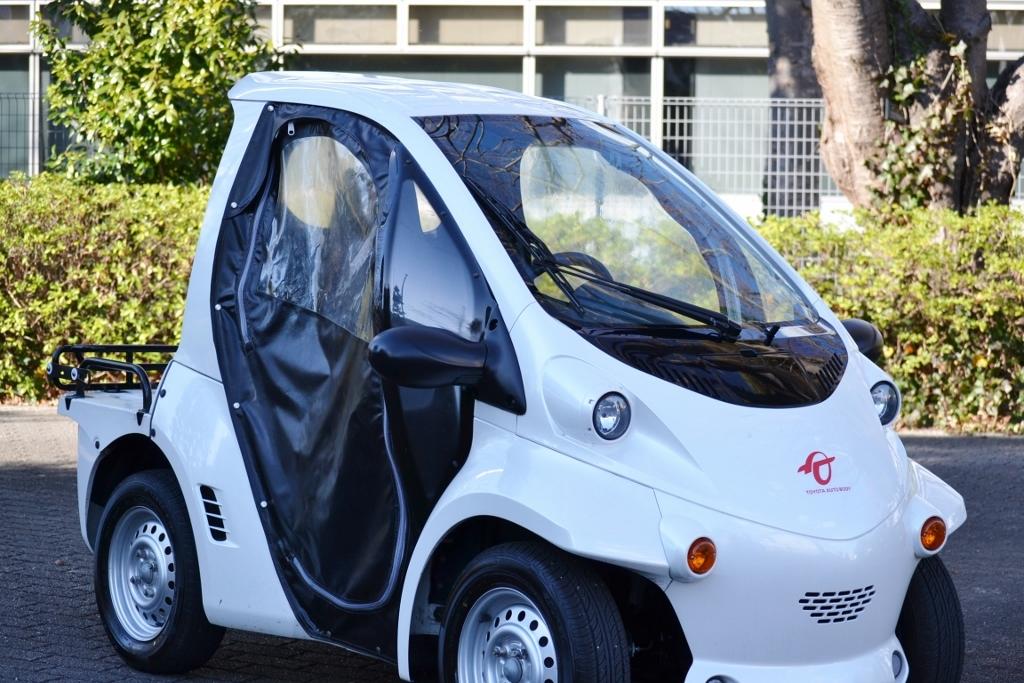 「◆コムス トヨタオートボディ COMS TAK30 小型EV 電気自動車 ミニカー登録済 全国配送可能!◆」の画像1
