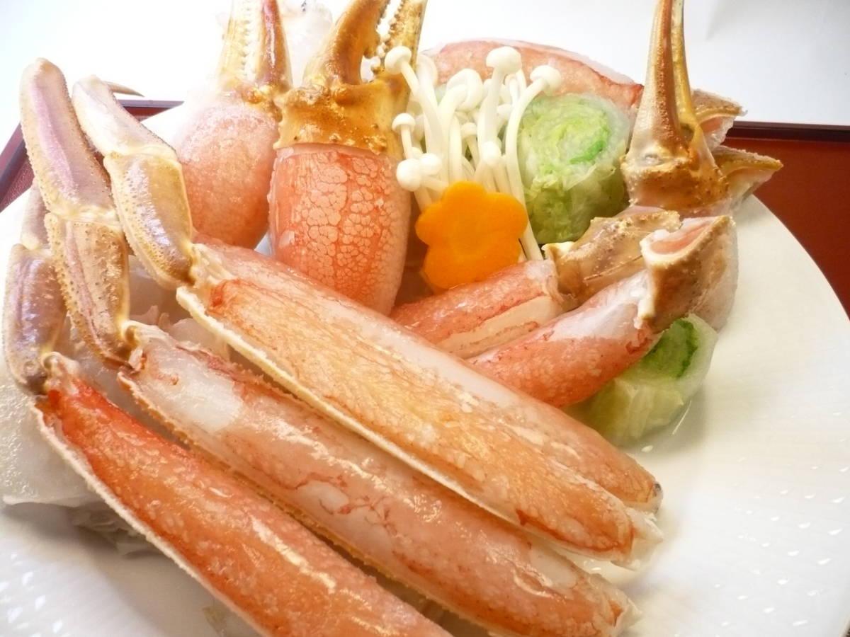北海道産!本ズワイガニ ビードロカット 1kg 足と胴と爪のセット 自宅で本格料理屋さんのカニ鍋をお楽しみ頂けます!_鮮度や味わい、食感どれも最高級です!