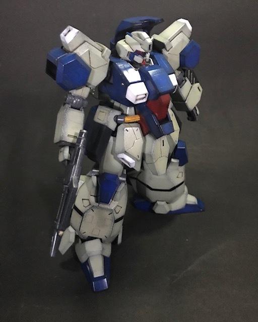 BANDAI HGUC1/144 グスタフ・カール(UNICORN Ver.) 塗装済み完成品_画像2