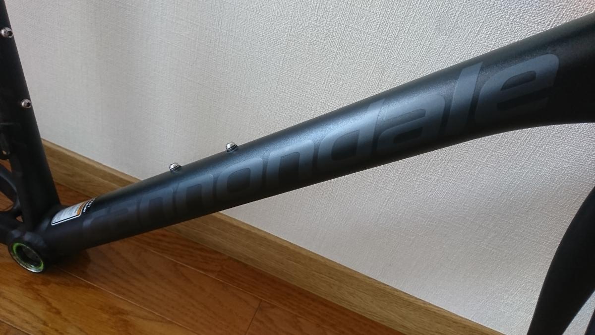 【美品】CANNONDALE CAAD10 フレームセット サイズ52 ブラック キャノンデール アルミ_画像8