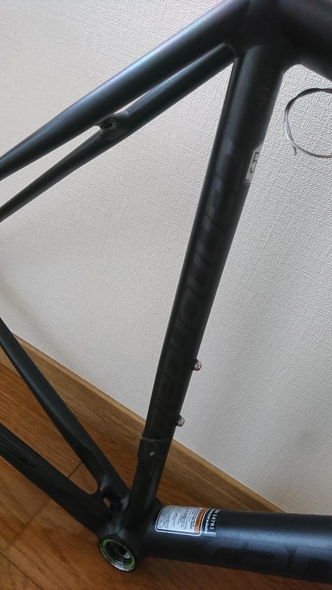 【美品】CANNONDALE CAAD10 フレームセット サイズ52 ブラック キャノンデール アルミ_画像6