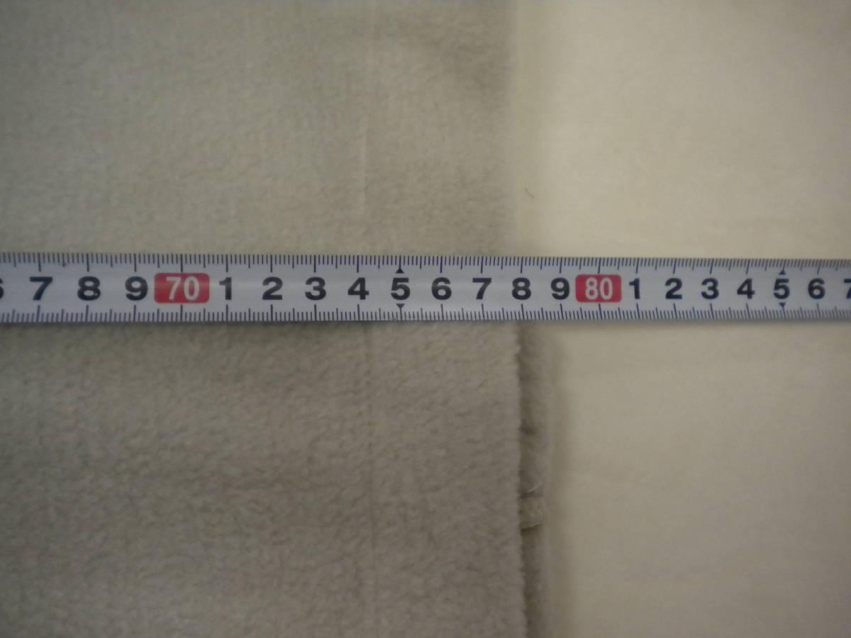 663 作務衣 あったかフリース 作業着 部屋着 冬用 Lサイズ ベージュ_画像7