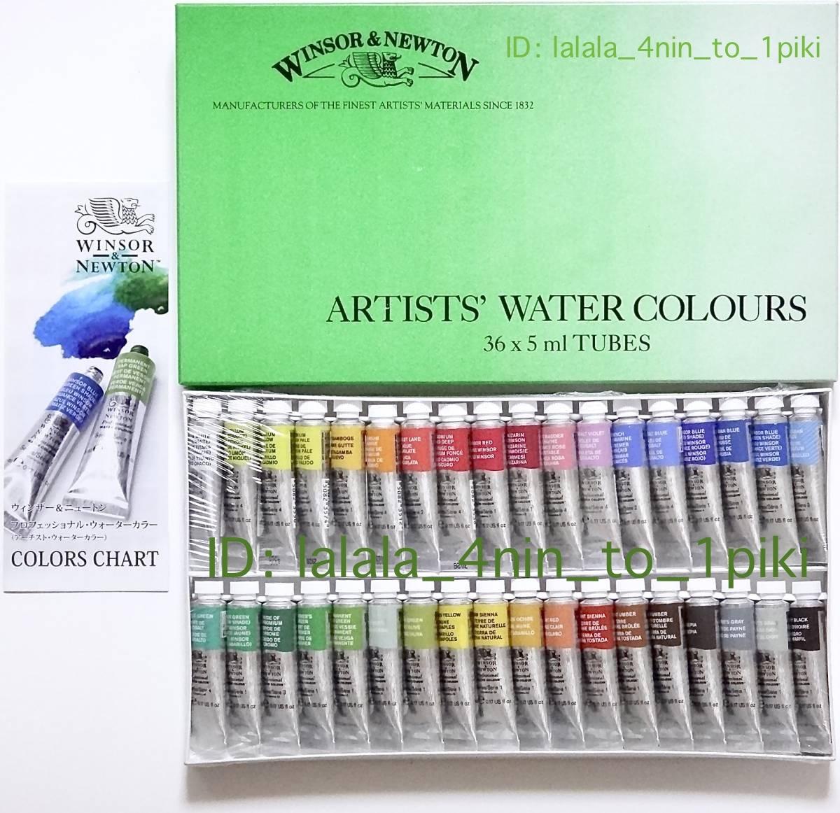 水彩絵具の最高峰!プロ向けの英国製品です