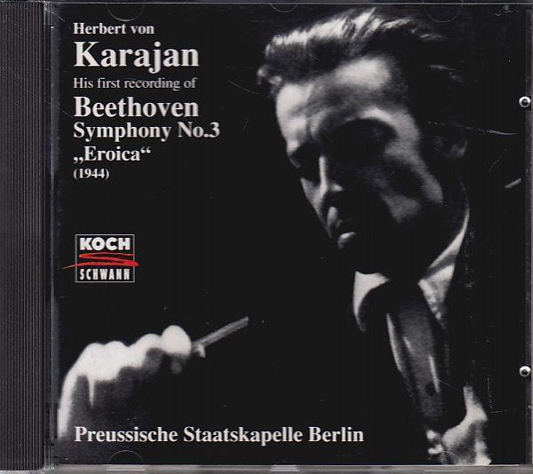 3/23# カラヤン&プロイセン歌劇場o/ベートーヴェン:交響曲第3番英雄