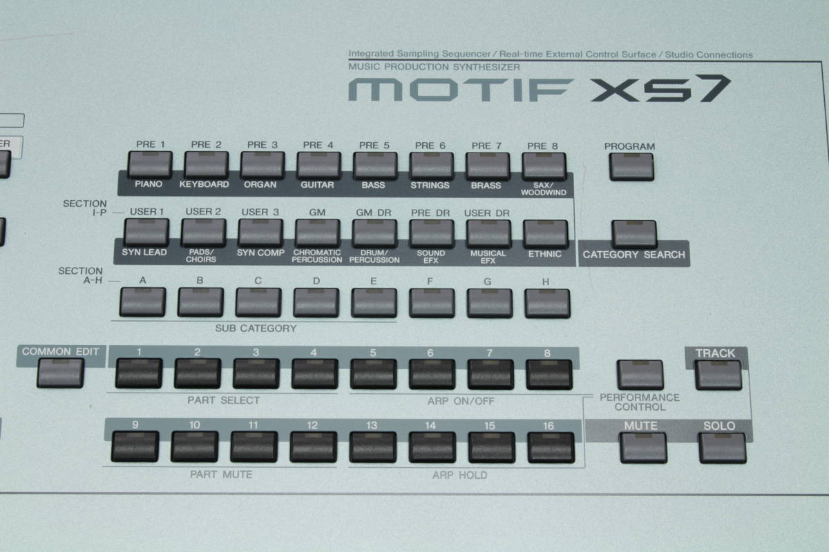 Yamaha MOTIF XS7 -Geek IN Box-_画像2