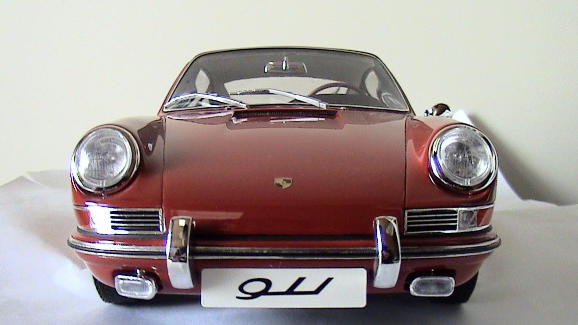 TSM【1/12 ポルシェ 911】Porsche 911/1964 レッド TSM141201 限定300台 国内定価52000円 開封箱無 ケース内展示にて美品 トゥルースケール_画像9