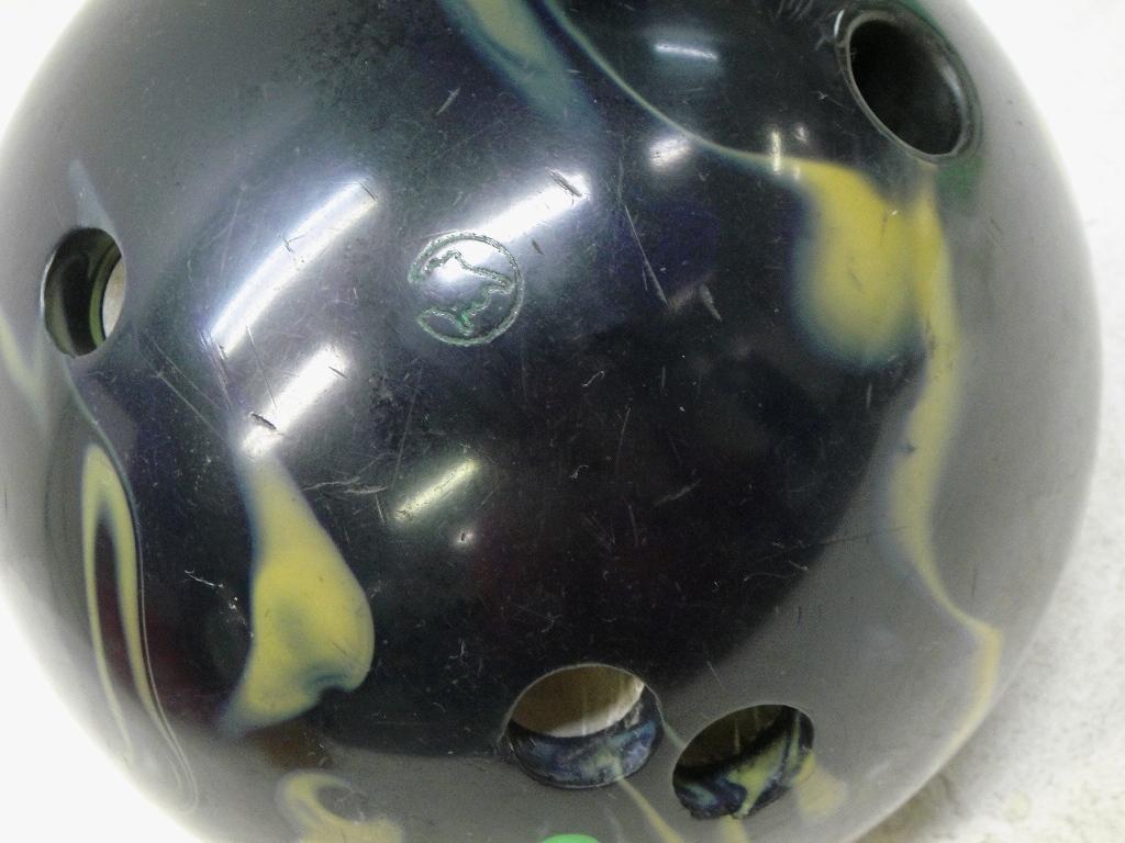 【SZ4832】中古 ボウリングボール/球 COLUMBIA300 コロンビア PURE PHYSICS FULL TILT7.5 重量約6.6kg 約14.9ポンド used_画像4