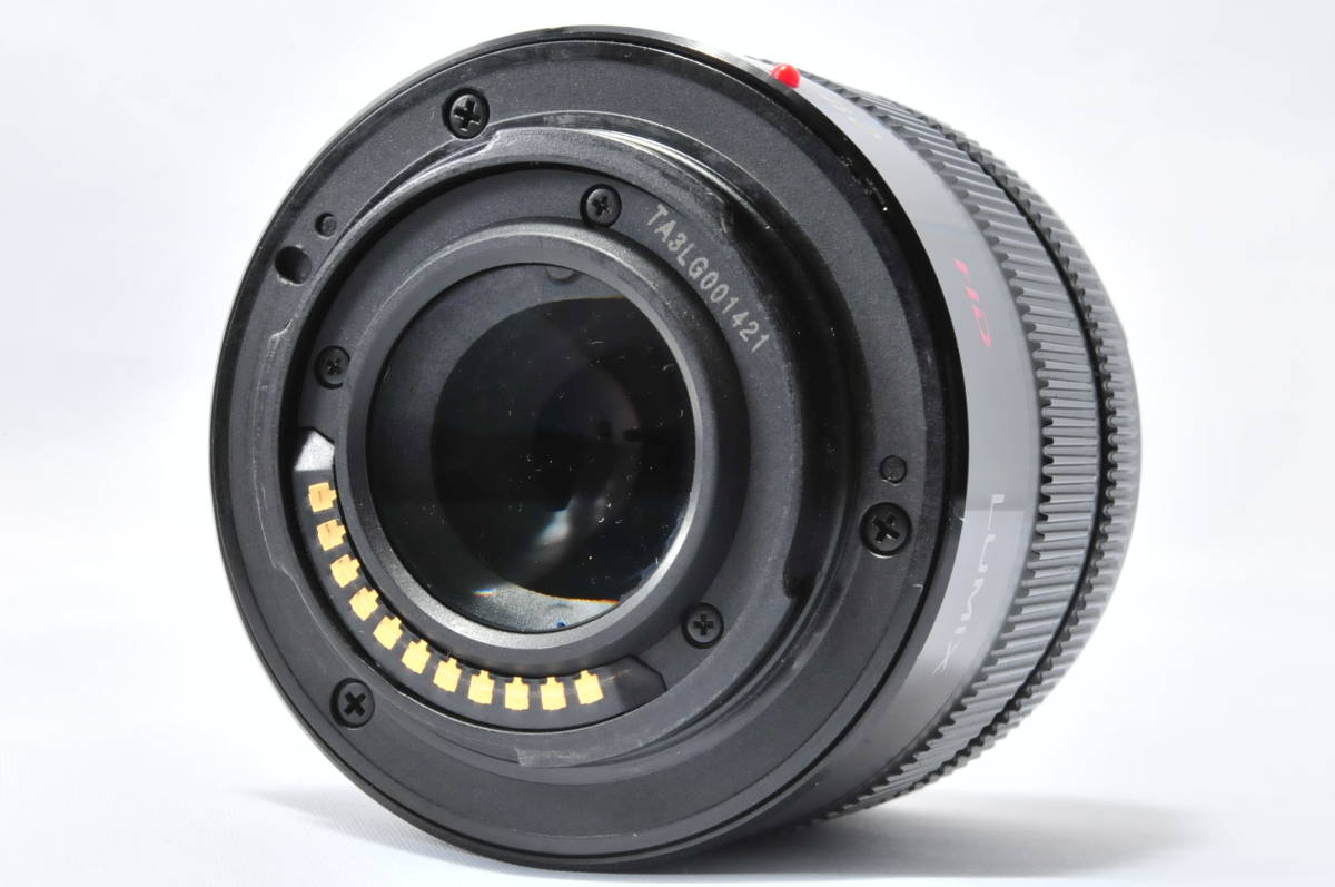 ★実用美品★ LUMIX ルミックス G VARIO 14-42mm F3.5-5.6 ASPH. MEGA O.I.S. ii 旧カラー HD赤文字 ★m.p-19Mc19-0180_画像4