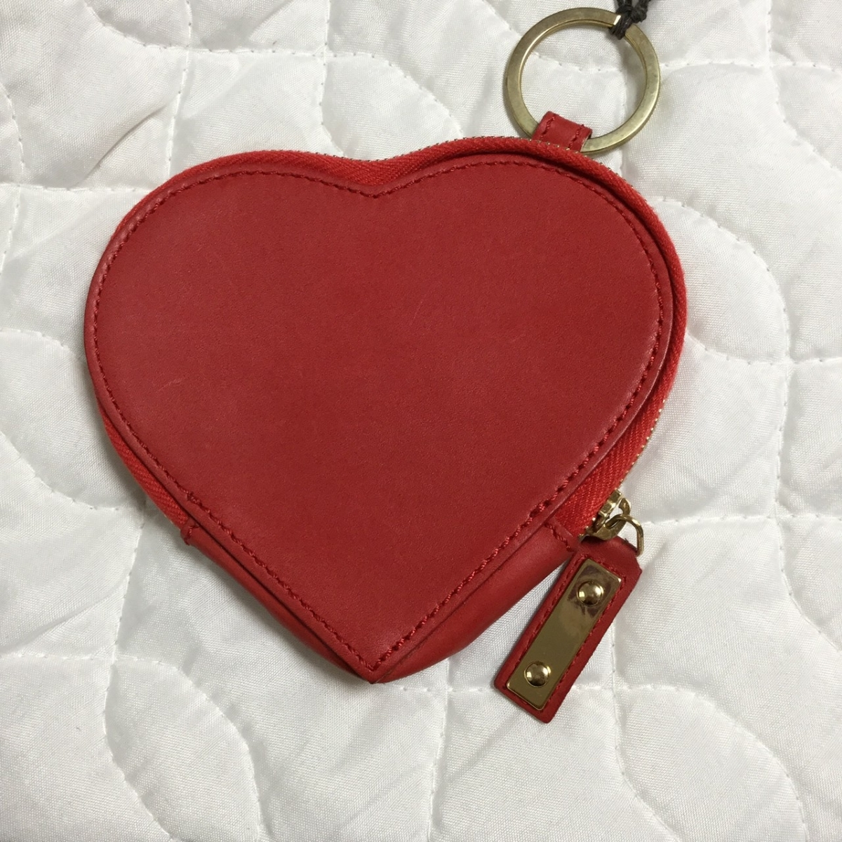 【新品】 DSQUARED ハート レザー 財布 コインケース ポーチ 小物入れ 赤 レッド