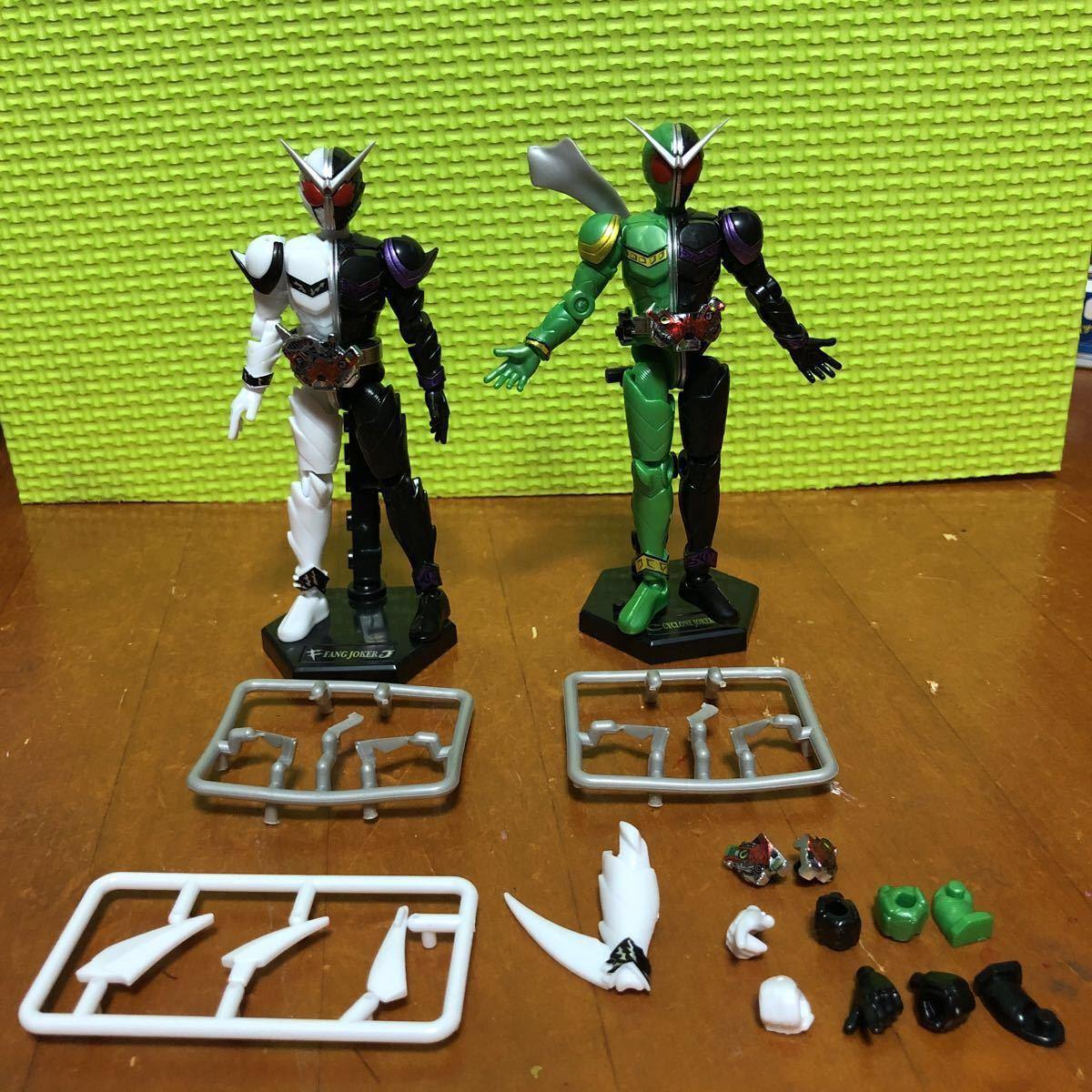 SO-DO CHRONICLE 双動 仮面ライダーW サイクロンジョーカー&ファングジョーカー セット