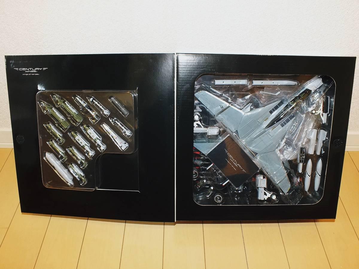 CenturyWings 1/72 F-14B トムキャット アメリカ海軍 VF-103 ジョリーロジャース 空母ドワイト・D・アイゼンハワー搭載 1998 AA101 001626_画像3