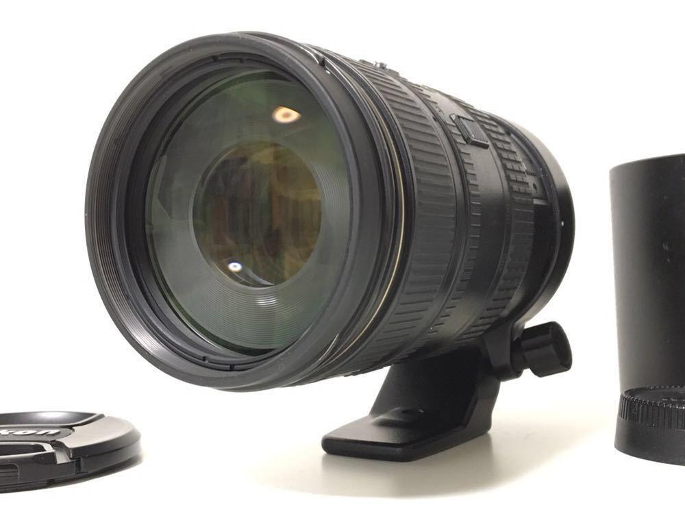 ★実用美品★Nikon ニコン AF VR-NIKKOR 80-400mm 1:4.5-5.6D ED