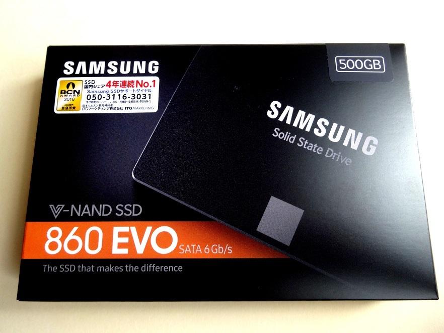 K3E★送料無料:新品未開封「SAMSUNG SSD 860 EVOシリーズ 500GB MZ-76E500B/IT」4年連続No.1サムスン超高速V-NAND SATA 2.5inch SSD 500GB