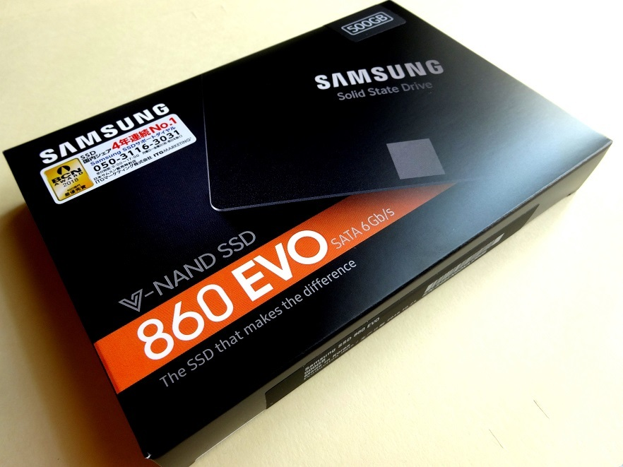 K3E★送料無料:新品未開封「SAMSUNG SSD 860 EVOシリーズ 500GB MZ-76E500B/IT」4年連続No.1サムスン超高速V-NAND SATA 2.5inch SSD 500GB_画像6