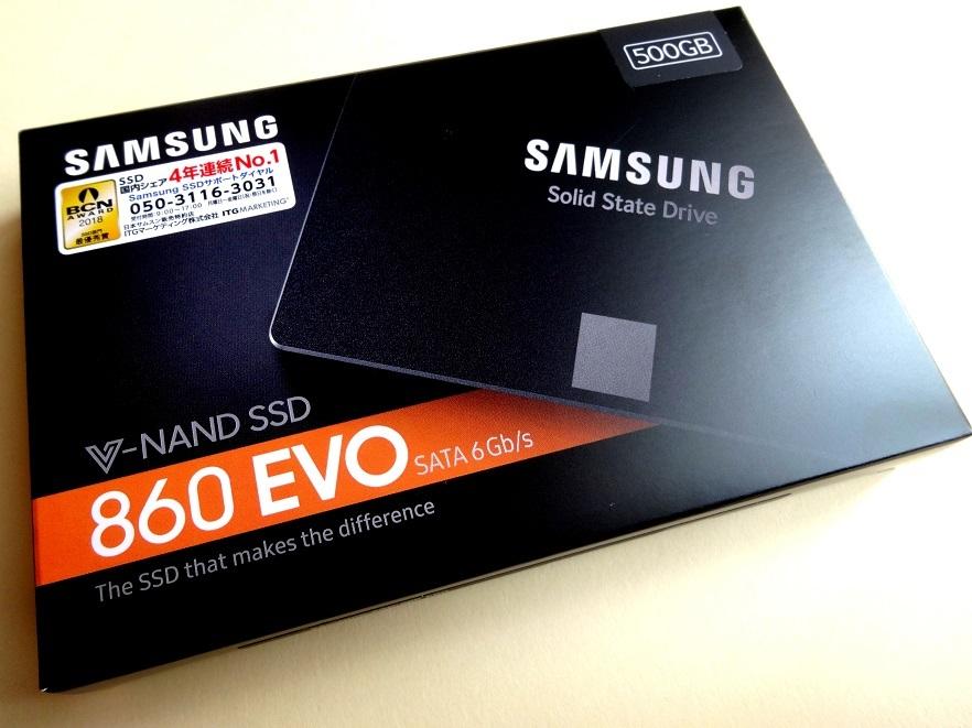 K3E★送料無料:新品未開封「SAMSUNG SSD 860 EVOシリーズ 500GB MZ-76E500B/IT」4年連続No.1サムスン超高速V-NAND SATA 2.5inch SSD 500GB_画像8