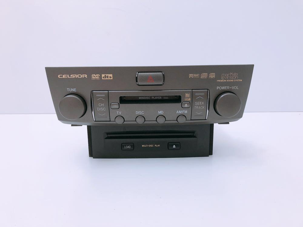 管m310306-0403 UCF 30 31 後期 セルシオ マークレビンソン CD/DVD チェンジャー オーディオ デッキ プレイヤー 86120-50A80 Shipモード