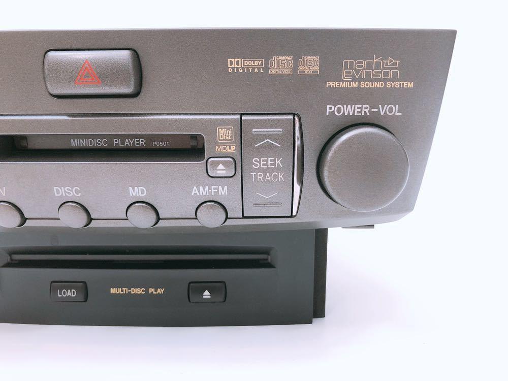 管m310306-0403 UCF 30 31 後期 セルシオ マークレビンソン CD/DVD チェンジャー オーディオ デッキ プレイヤー 86120-50A80 Shipモード_画像3