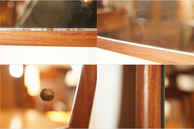 イギリスヴィンテージ チークミラー(鏡)/壁掛け鏡/縦/横/2WAY/ヴィンテージミラー/北欧インテリア/ミッドセンチュリー/ウォールミラー_画像9