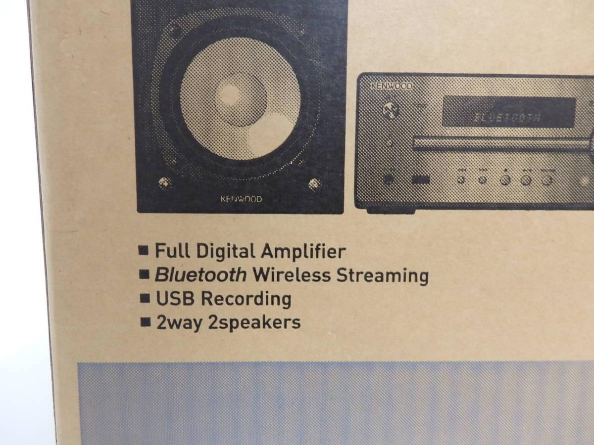 未使用未開封 KENWOOD ハイレゾ対応 Hi-Fiオーディオシステムコンポ K-515-N Bluetooth_画像4