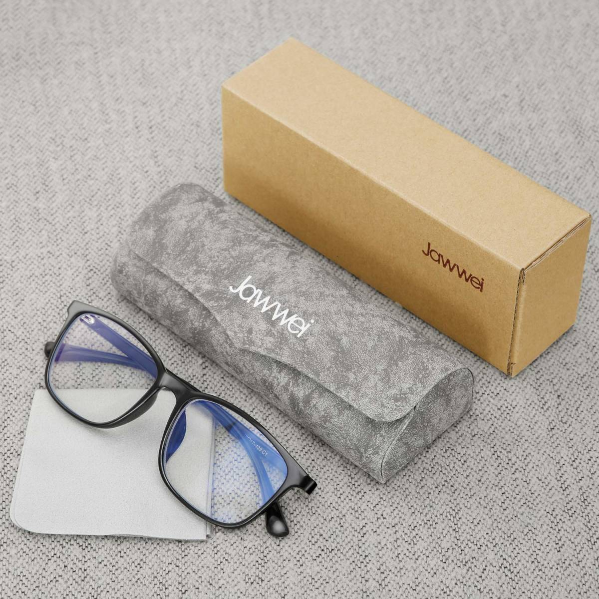 新品●Jawwei 伊達メガネ おしゃれ ブルーライトカット pcメガネ TR90 超軽量 だて 眼鏡 ファッション メガネ uv 紫外線99%カット Y6838_画像6